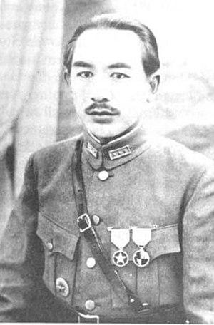 Sheng Shicai - Sheng Shicai in cca. 1928