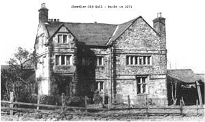 History of St Helens, Merseyside - The Sherdley Old Hall farmhouse, built in 1671 in the Elizabethan style, a Grade II listed building.
