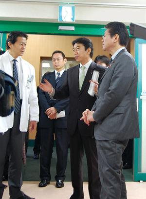 Shinya Adachi - Shinya Adachi with Akira Nagatsuma on December 3, 2009