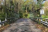 Shoddy Mill Road Bridge, New Hampton, NJ - looking northwest.jpg