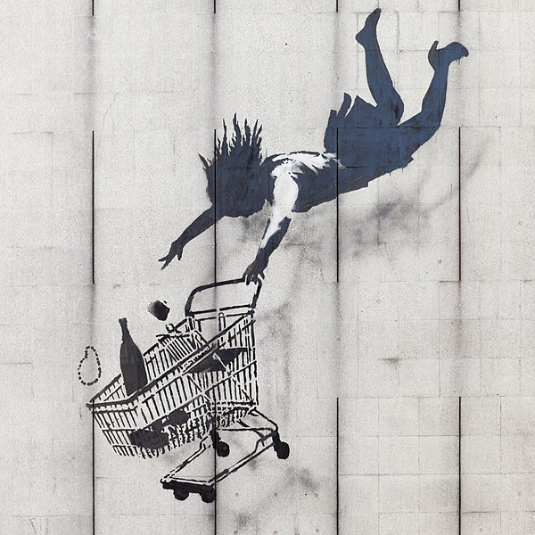 File:Shop Until You Drop by Banksy.JPG