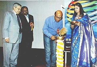 Buddhadeb Dasgupta - Buddhadeb Dasgupta inaugurating 8th Mumbai International Film Festival, for Documentary, Short at the P.L Deshpande Auditorium in Mumbai on February 3, 2004