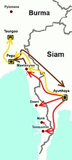 war fought between the Toungoo Dynasty of Burma and the Ayutthaya Kingdom of Siam