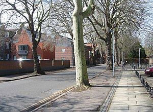Sidgwick Avenue - Image: Sidgwick Avenue geograph.org.uk 787272