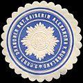 Siegelmarke 2. Garde Dragoner Regiment Kaiserin Alexandra von Russland W0238268.jpg