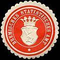 Siegelmarke Bremisches Statistisches Amt-Bremen W0296969.jpg