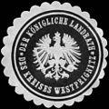 Siegelmarke Der Königliche Landrath des Kreises Westprignitz W0217192.jpg