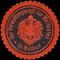 Siegelmarke Der Verwaltungschef für Wallonien in Namur W0333118.jpg