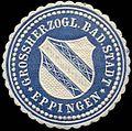 Siegelmarke Grossherzogl. Badische Stadt Eppingen W0311050.jpg