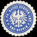 Siegelmarke Königlich Preussische Haupt - Steuer - Amt - Neu - Ruppin W0224249.jpg