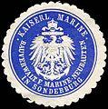 Siegelmarke Kaiserliche Marine - Bauverwaltung für Marine - Neubauten in Sonderburg W0239779.jpg