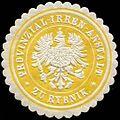 Siegelmarke Provinzial-Irren-Anstalt zu Rybnik W0260676.jpg