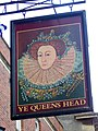 Sign for Ye Queens Head - geograph.org.uk - 1564979.jpg