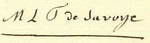 Signature of Princess Marie Louise Thérèse of Savoy, Princess of Lamballe.png