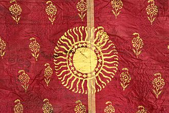 Sikh Khalsa Army - Captured Sikh battle standard of First Anglo-Sikh War
