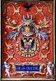 Simon Bening - Libro del Toison - Emblema de Carlos I.jpg