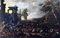Simon Johannes van Douw - Italianizing Capriccio with Market Scene.jpg