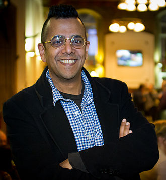 Simon Singh - Singh in 2013 at the Merseyside Skeptics Society