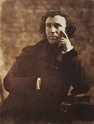 John Steell - Sir John Steell by Hill & Adamson, circa 1845.
