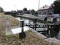 Sissy (Aisne) Canal de la Sambre à l'Oise, écluse 28.JPG