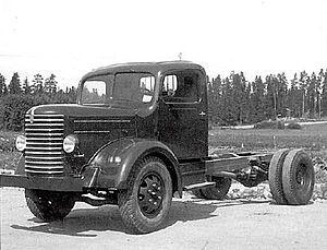 Vanajan Autotehdas - The Sisu S-22 was the first vehicle manufactured by Yhteissisu