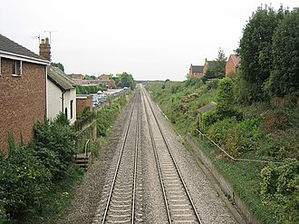 Bredon Hill - The currently closed Bredon railway station.