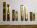 Size comparison between German harmonium reeds and Indian Delhi style brass harmonium reeds..JPG