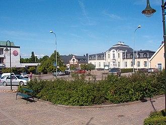 Sjöbo - Central Sjöbo with view over Sjöbo Gästis