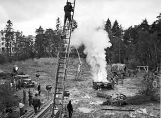 The Seventh Seal - Filming of The Seventh Seal at Filmstaden