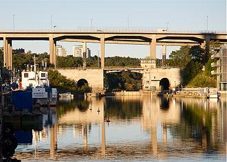 Skansbron - Skansbron in September 2011.
