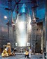 Skylab Shroud in Plum Brook Space Power Facility (9459374340).jpg