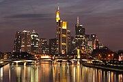 Frankfurt am Main, Deutschlands Finanzzentrum