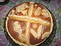 Slavski kolac na tanjiru.jpg