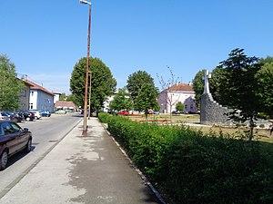 Slunj - Franjo Tudjman Ph.D. Square in Slunj