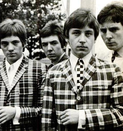 Gli Small Faces nel 1965(da sinistra) Marriott, Lane, Jones, Winston