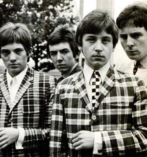 Ivy League (clothes) - Mod band the Small Faces wearing Ivy League inspired Glen plaid sportcoats.