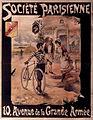 Société Parisienne Poster - circa 1895 - Société parisienne 10 avenue de la Grande Armée.jpg