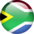 South African flag orb
