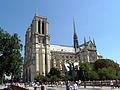 South facade of Notre-Dame de Paris, 6 August 2009.jpg