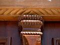 South portal of Golshan Hawza - Wooden New door - Nishapur 3.JPG