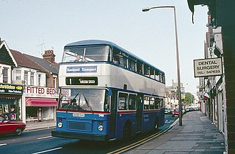 Arriva Southend - Southend Transport Northern Counties bodied Leyland Olympian in 1980