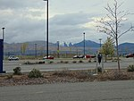 Southwest at South Jordan Parkway station Park & Ride lot, Apr 16.jpg