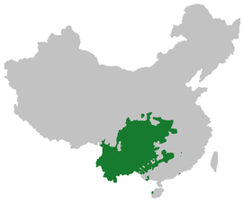 Southwestern Mandarin in China.png