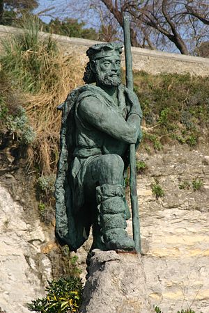 Cantabri - Monument to the Cantabri people in Santander.