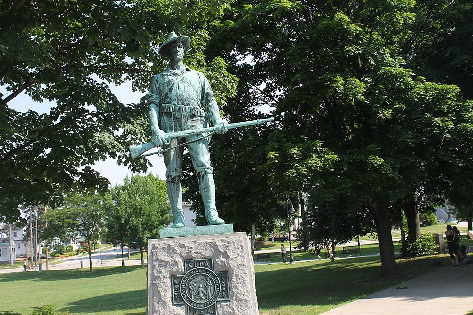 Spanish-American War monument, Manchester, NH IMG 2769