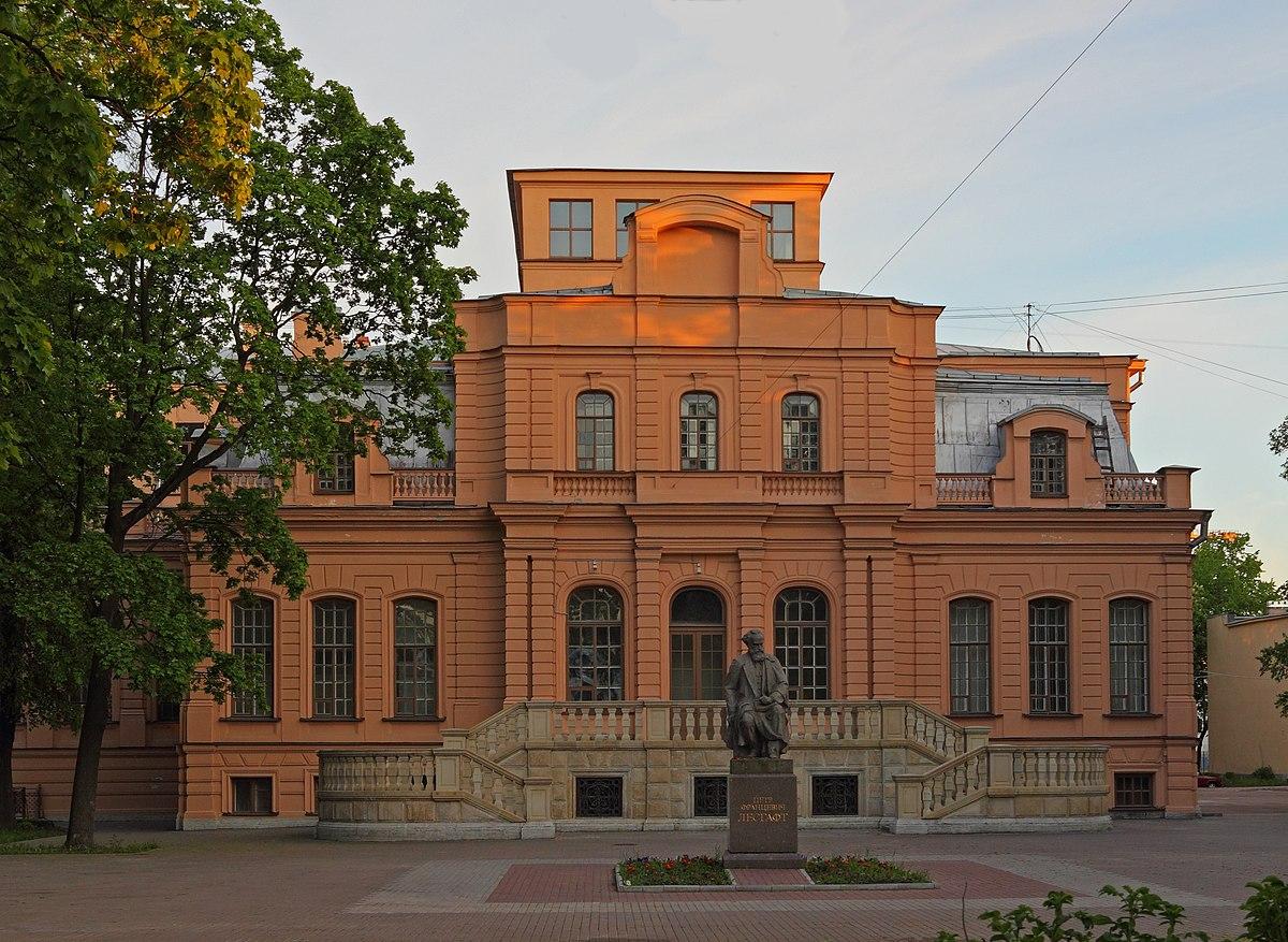 Национальный государственный университет физической культуры, спорта и здоровья имени П. Ф. Лесгафта — Википедия