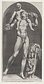 Speculum Romanae Magnificentiae- Bacchus on the Shoulders of a Satyr MET DP870219.jpg
