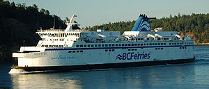 S-class ferry - Image: Spirit Of British Columbia