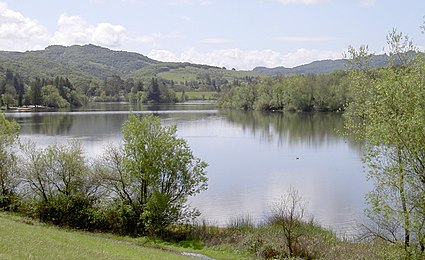 The reservoir, viewed from the north.