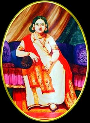 Travancore royal family -  Aayilyam Thirunal Maharani Gowri Lakshmi Bayi – The only Queen of Travancore to have ruled the kingdom in her own right.